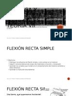Tema VIII-Estatica Flexión simple.pptx