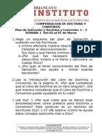 Trabajo de Compensacion de Doctrina y Convenios - Semana 1 - 11.2015