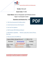 [Braindump2go] New Updated 74-409 Dumps VCE Free Download (1-10)