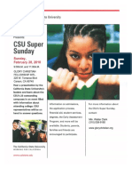 GCFI CSU Super Sunday