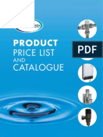 Advanced Water Company 2008 Price Guide