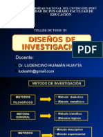 DISEÑOS Y POBLACION MUESTRA.ppt