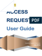 access request user guide 10 june