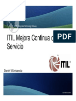 ITIL v3 Foundation Continual Service Improvement