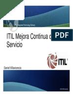 ITIL v3 Foundation Continual Service Improvement