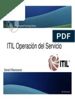 ITIL v3 Foundation Operation Service