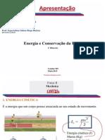 Aula de Energia e Conservação Da Energia