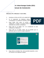 Manual de Instalacion Electronic Interchange Guide EIG