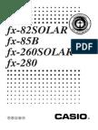 Fx82solar calculator manual