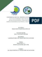 Laboratorio de Telecomunicaciones Am y Fm