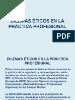 Dilemas Éticos en La Práctica Profesional