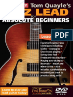 Jazz Lead Guitar for Absolute Beginners TAB Booklet