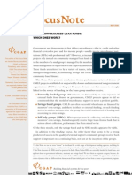 CGAP - FN#36 - Community-Managed Loan Funds