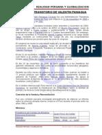 Gobierno Transitorio de Valentin Paniagua Alumno-mirko a. Carranza Medina