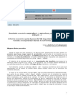 INTA Informe Economico Para El Productor II Departamento Rio Segundo Cordoba Incorporando Balance de Nutrientes _ Julio 2013