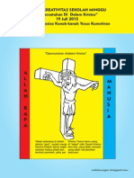 Bahan Kreativitas Sekolah Minggu 19 Juli 2015 PIA St.Theresia Kanak-kanak Yesus Kumetiran