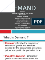 Economics - Demand