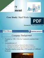 Steel Works Inc_Case Study