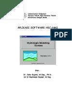 Aplikasi Software HEC-HMS
