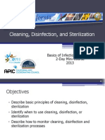 Cleaning Disinfection Sterilization