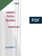 SANTOS Agraristas Politicos Brasileiros