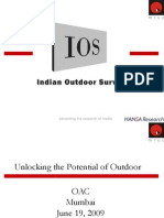 Indian Outdoor  Advertising Survey