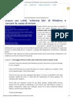Analisi Dei Crash _schermo Blu_ Di Windows e Cercare La Causa Di Errore _ Pom-HeyWEB!