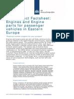Product Factsheet Engines Poland Czech Republic Romania Hungary Slovakia Bulgaria Slovenia Automotive Parts Components 2014