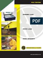 Brochure p Pile Testing