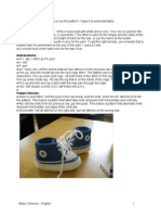 BabyConverse-English 1 crochet pattern