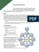 Framework architecture
