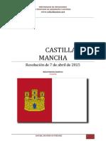 Comentario Oposición 2015 Castilla La Mancha
