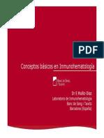 Conceptos Basicos en Inmunohematologia