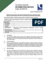 Additional Documentation Required for Part_66v1_10Sept12