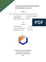 laporan kromatografi gas (GC)