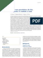 Abcès non parasitaires du foie. Diagnostic et conduite à tenir