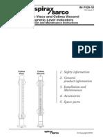 Colima Visco and Colima Viscorol Magnetic Level Indicators-Installation Maintenance Manual