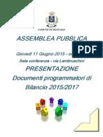 Assemblea Pubblica Bilancio 2015
