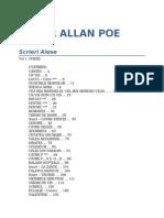 Edgar Alan Poe - Scrieri Alese