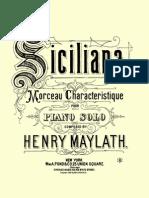 Maylath - Siciliana