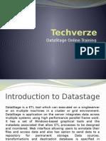 Datastage Online Training