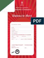 Diploma Merit Elevi