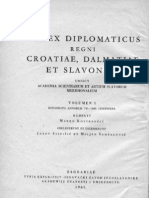 Codex Diplomatic Us I