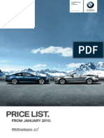 1003 BMW 6 Series Price List