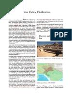Prehistoric India - Indus Valley Civilization