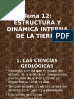 Estructura y dinámica interna de la tierra