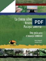 Manual Manejo Fauna Silvestre CDC 2007