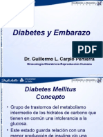 Diabetes y Embarazo