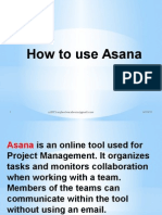 Asana Tutorial