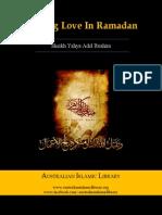 Finding love in ramadan (Sheikh Yahya Adel Ibrahim) || Australian Islamic Library || www.australianislamiclibrary.org